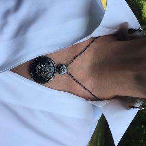 Necklace & drop earring set